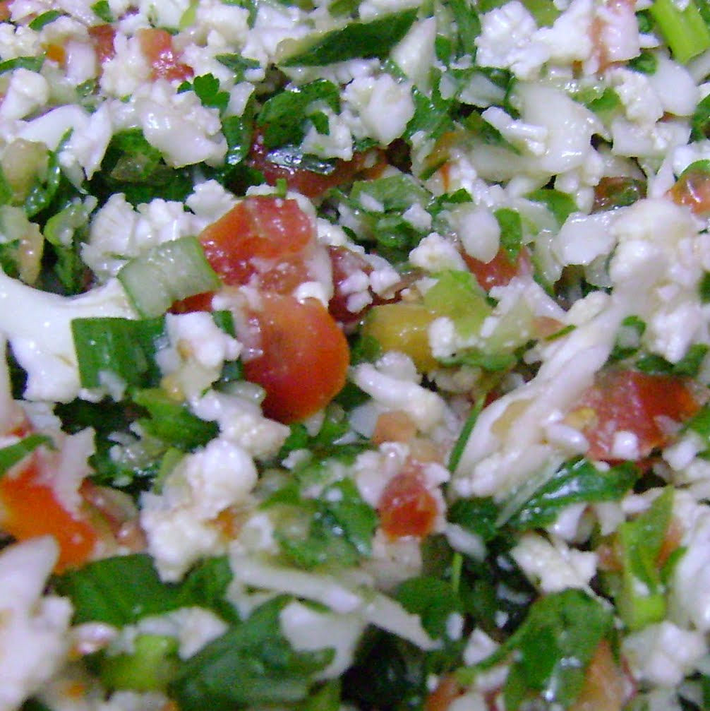Cooking Outside the Box: Cauliflower Tabouleh