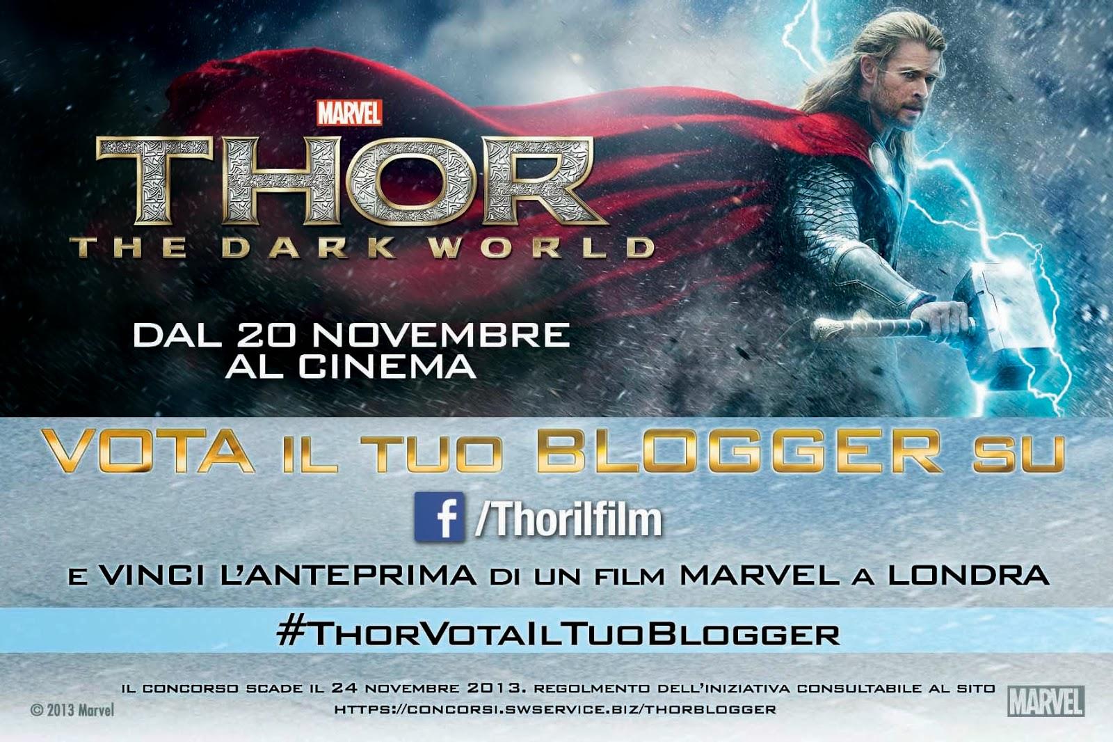Cartolina concorso Thor viaggio londra
