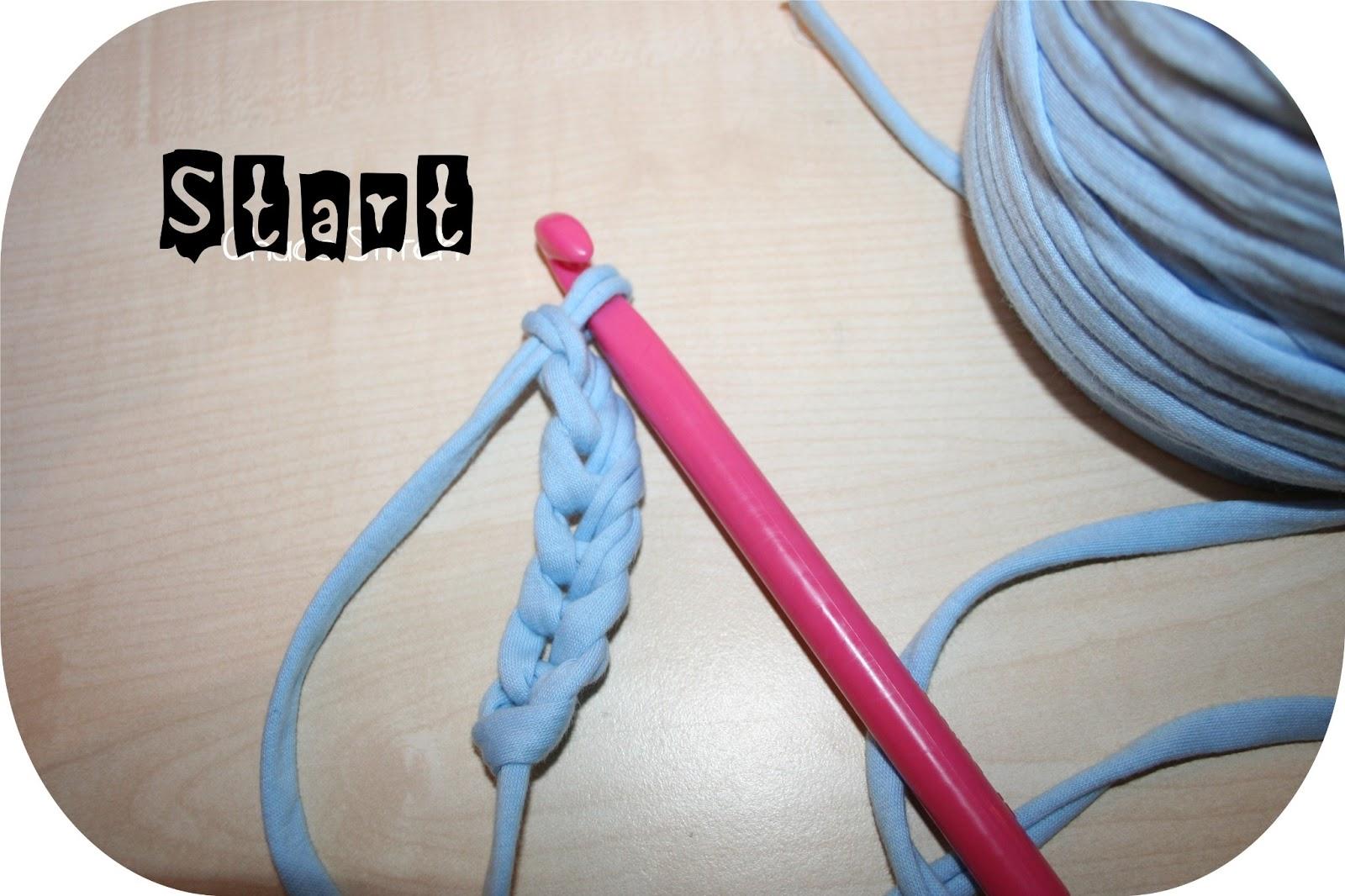 Chaos  Stitch [TutorialHäkelanleitung] ZpagettiTeppich