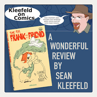 Kleefeld on Comics reviews Time for Frank and His Friend
