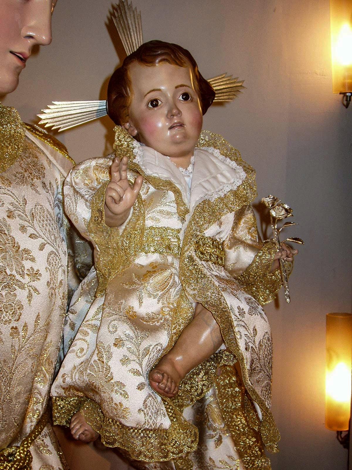 Niño Jesús Cartagena Arturo Serra escultura 1