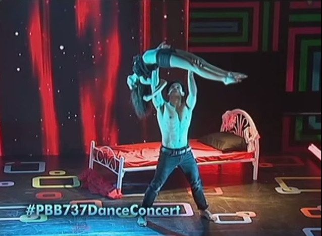 Zeus and Dawn give mouth-watering dance performance on PBB 737 concert