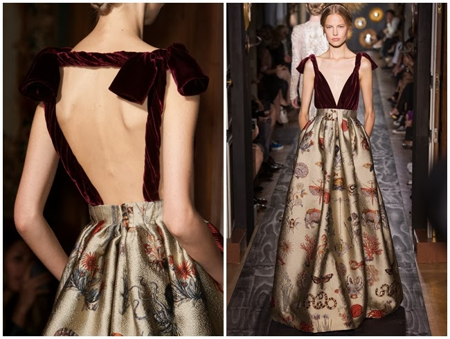 Valentino Couture Fall 2013 金馬撞衫 Same or Not