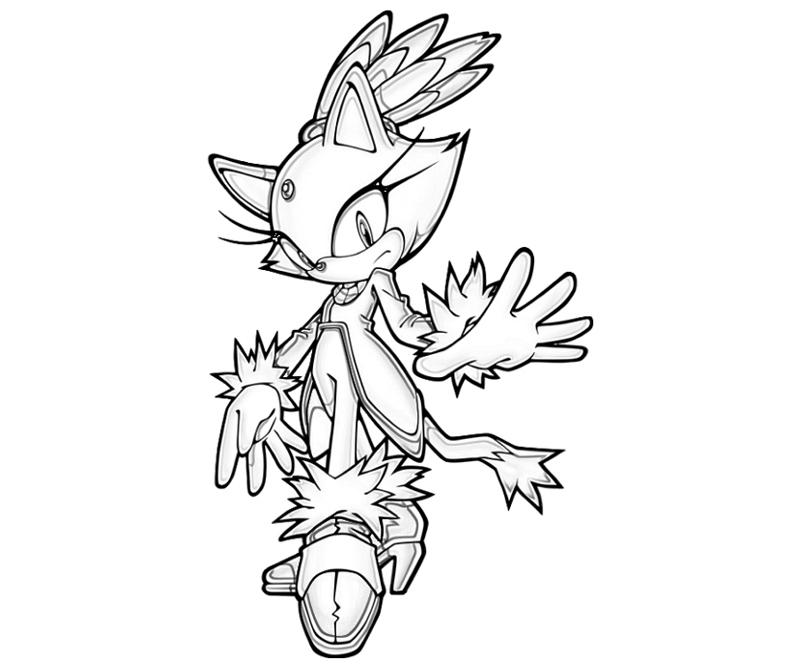 blaze the cat coloring pages sonic generations blaze the cat abilities surfing