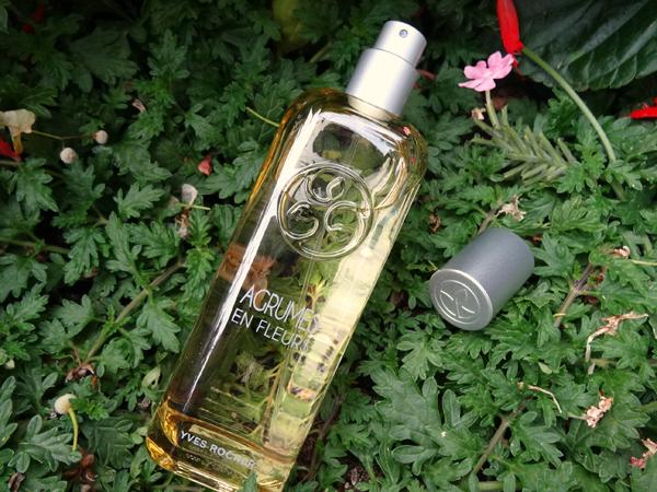 Il s\u0027agit de l\u0027eau de toilette Agrumes en Fleurs signée Yves Rocher qui  fait partie de la gamme Un Matin au Jardin.