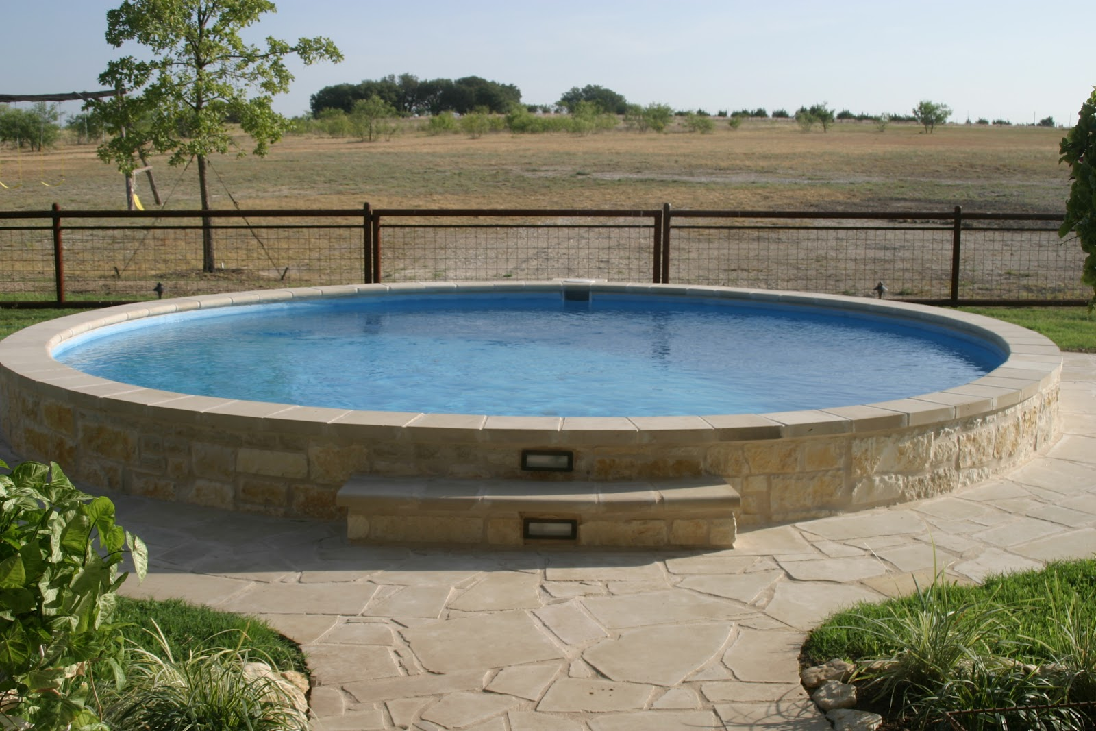 Tanks and troughs for How to build a grain bin swimming pool