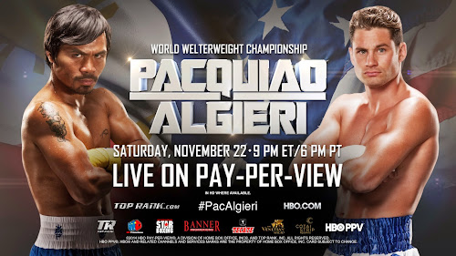 Pacquiao VS. Algieri Live Streaming 4