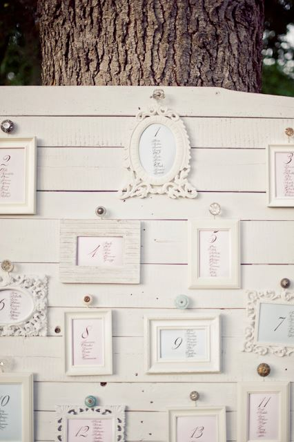 Wedding Reception Seating Chart Ideas | Wedding Calligraphy by Jan Hurst