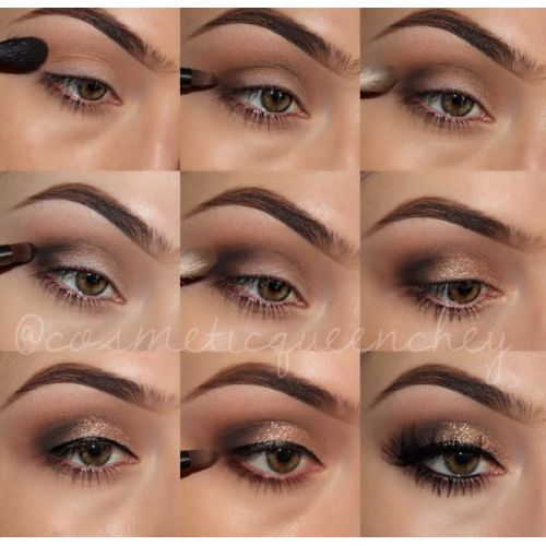 how to feel in your eyebrows