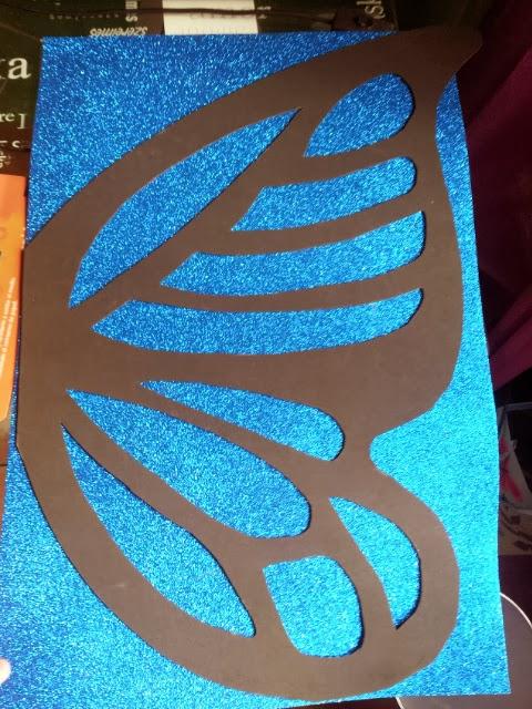 Como hacer una mariposa en cartulina tattoo design bild - Como hacer mariposas de goma eva ...