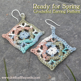 Crocheted Earring Pattern