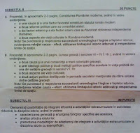 Subiecte istorie titularizare 2009 - Satu Mare pagina 2