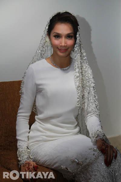 Baju Nikah, sent for tailoring!