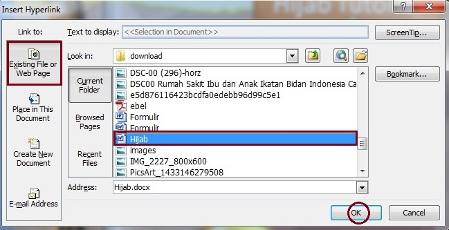 membuat hyperlink word cara membuat hyperlink di power