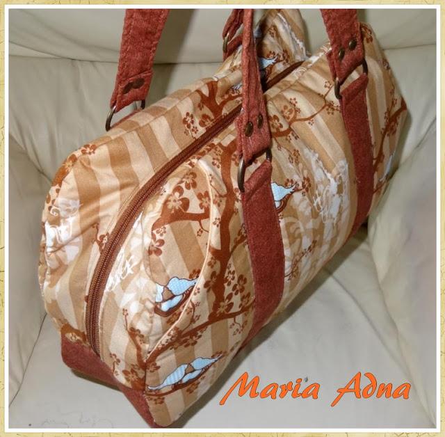Bolsas, Bolsas em tecido, Maria Adna