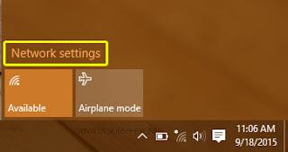 """Cara Melakukan """"Forget Network"""" WiFi Pada Windows 10"""