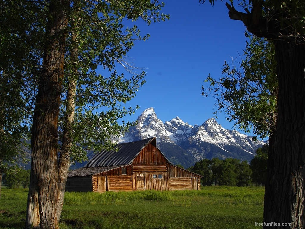 Wallpapers house nature beauty for Mtn chalet