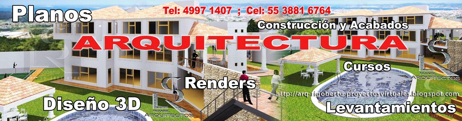 Planos Arquitectónicos de Casa Habitación con calidad profesional riansl.arquitectos