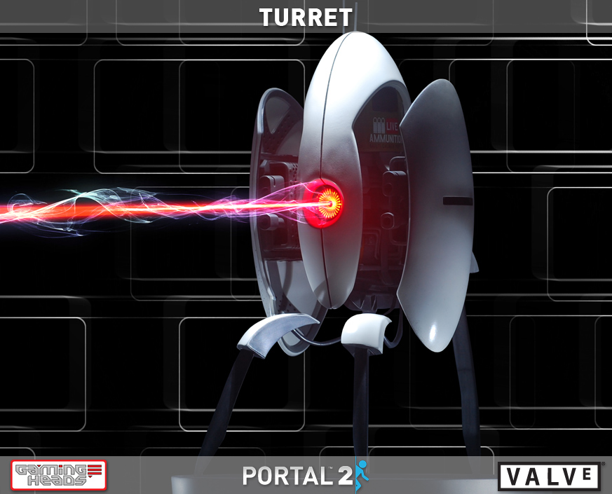 Portal 2 Turret Finally Comes Out Immediately Sold