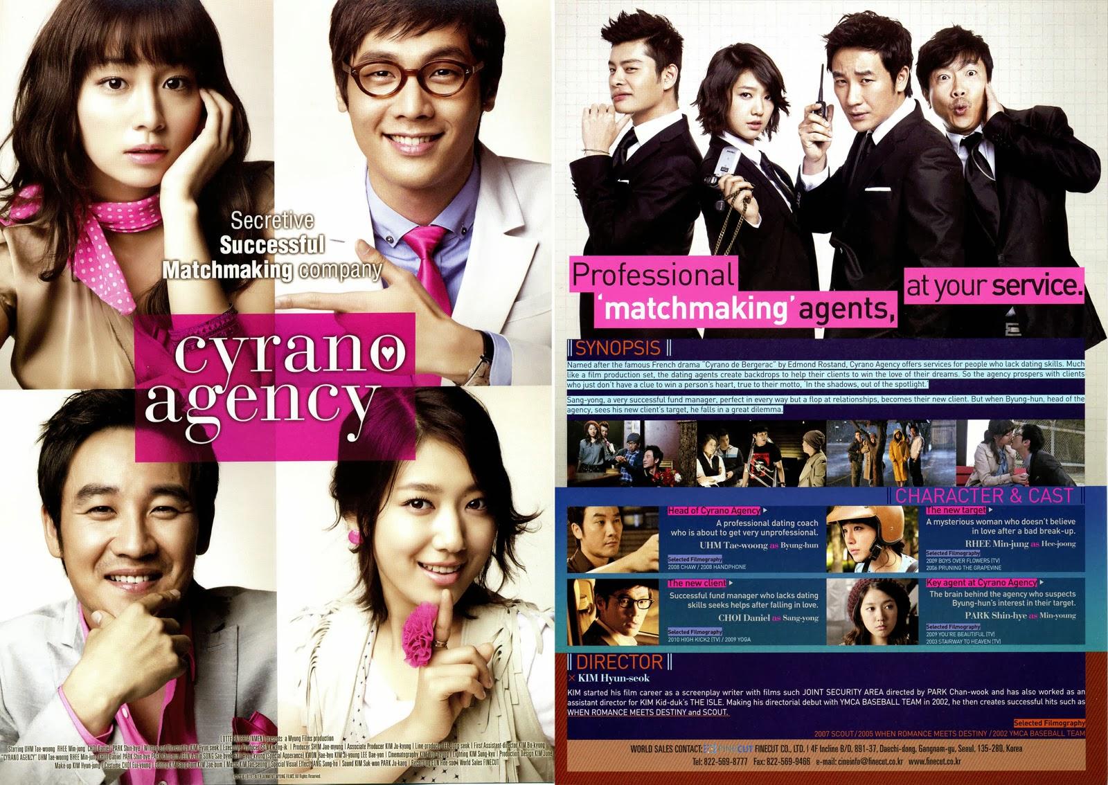 Cyrano Agency (Si-ra-no;Yeon-ae-jo-jak-do)
