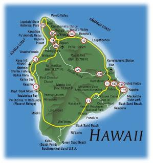 Big island Hawaii maps for free
