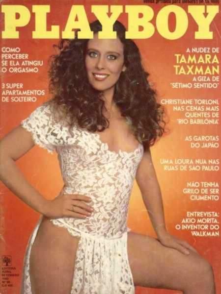 Confira as fotos da atriz Tamara Taxman, capa da Playboy de setembro de 1982!