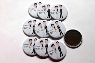 Espejos personalizados boda Itzi y Xabi de Bilbao