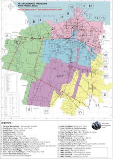 Peta Wisata Kota Probolinggo