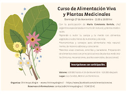 Curso de Alimentación Viva y Plantas Medicinales