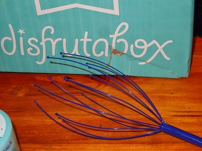 Masajeador de cabeza, es un obsequio Disfrutabox
