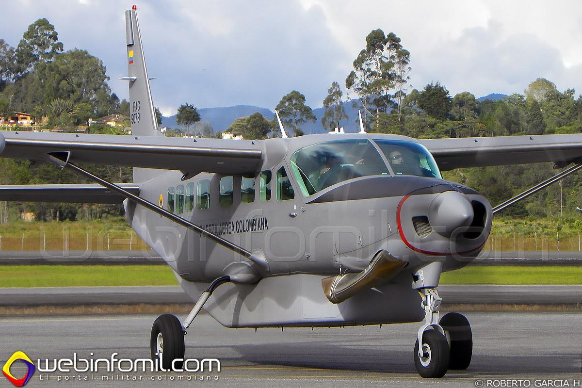 fac5079 fuerza aerea colombiana grand caravan
