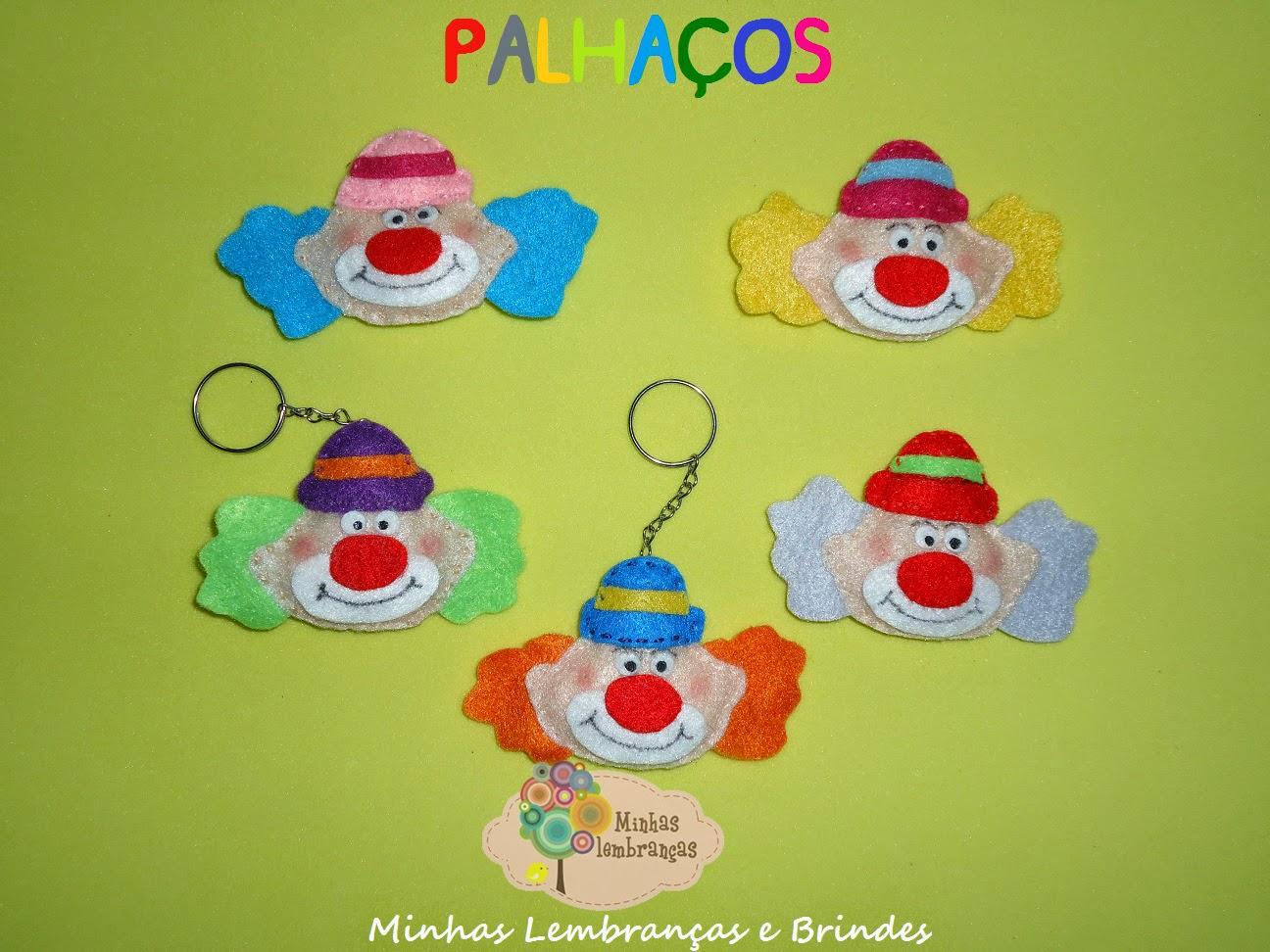 http://minhaslembrancasebrindes.blogspot.com.br/2014/11/palhacos-coloridos.html