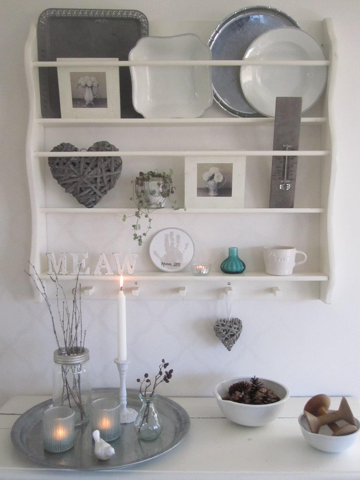 Vicky 39 s home ideas para estantes de platos vintage ideas - Estanterias en la cocina ...