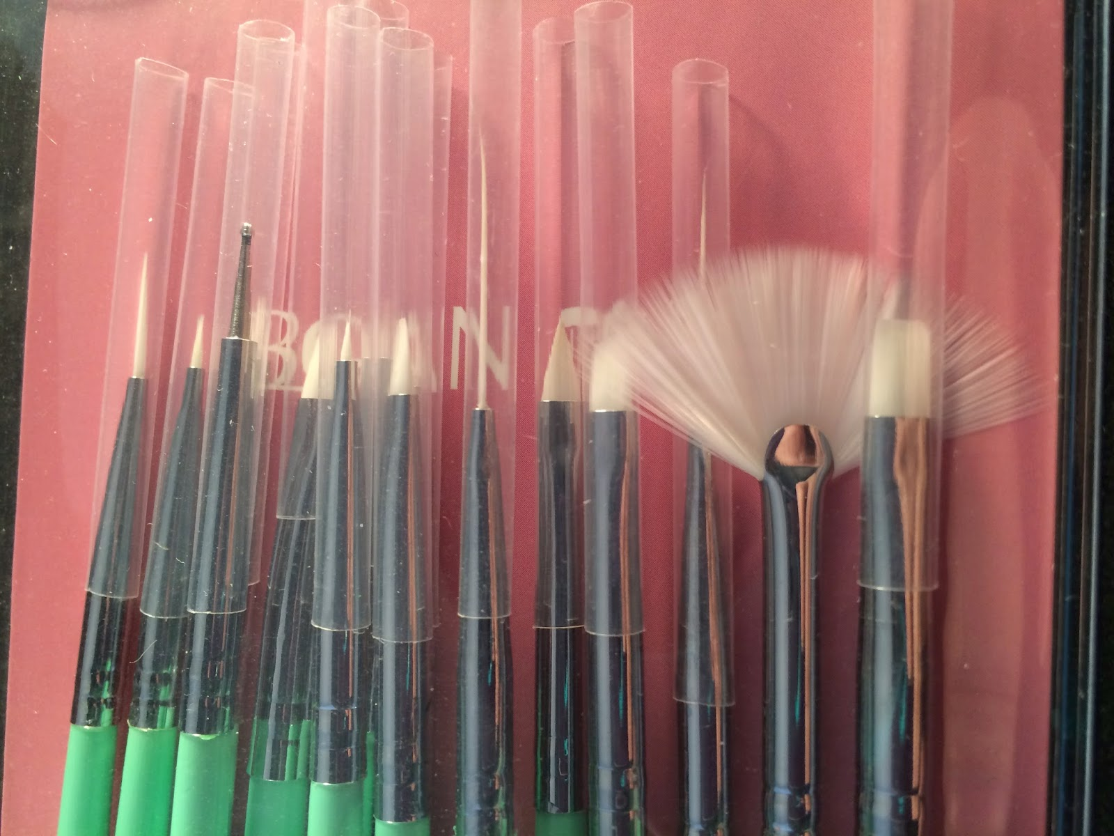 BornPrettyStore 15pcs/set Nail Art Design Brush Set #review