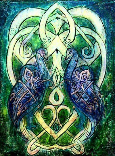 Celtic Peacocks