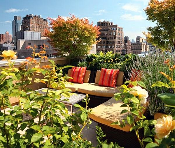 ... mobilier de salon correspondant . Organiser le jardin urbain est aussi