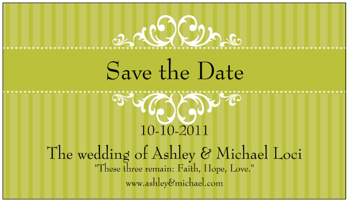 party with a k the blog wedding week save the date and your money