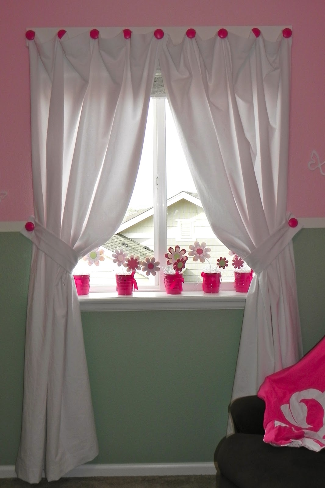 Ideas For Hanging Curtains Without Rods Drapery Rods