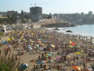 Caleta Abarca playa de Viña del Mar