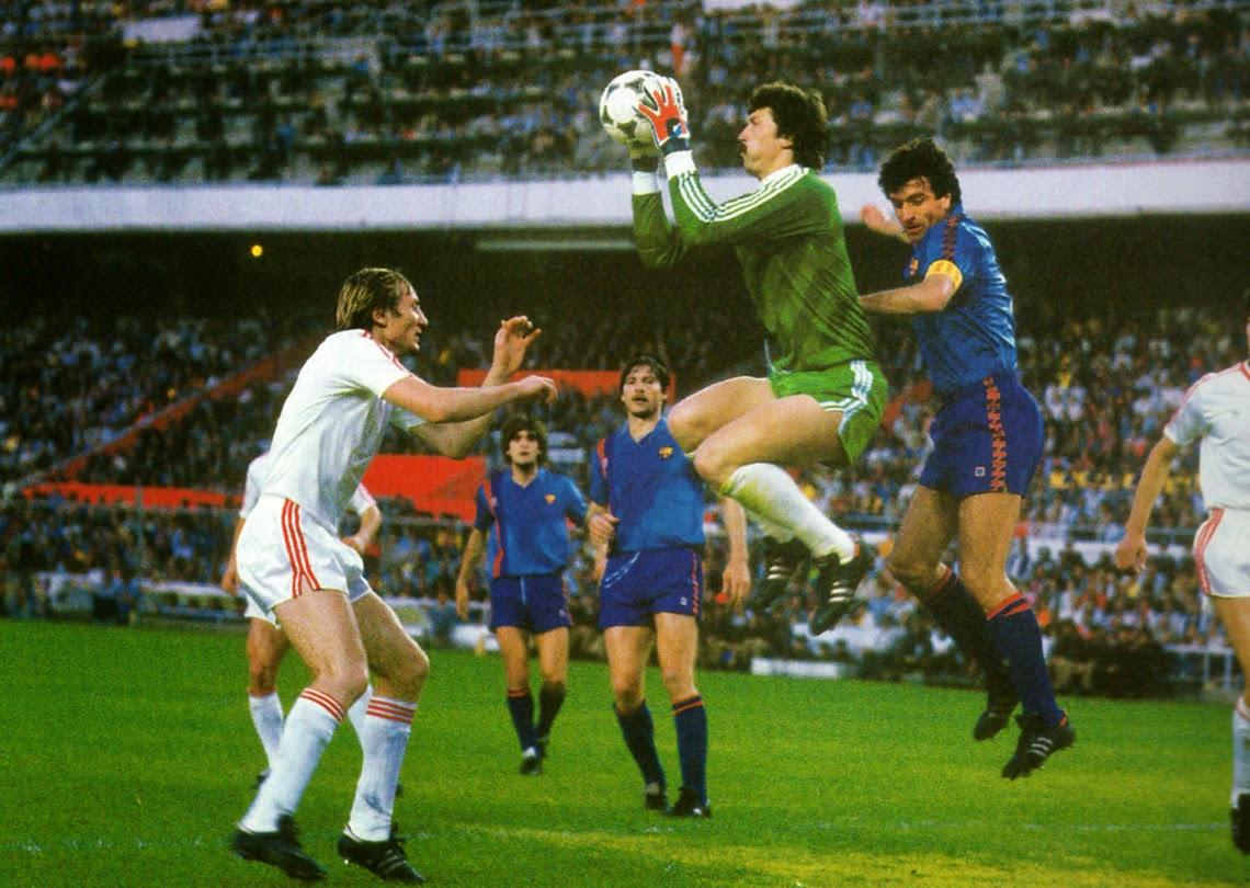 1986 European Cup Final - Barcelona v Steaua