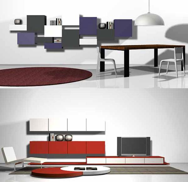 Pink Leaf Villa Modern Modular Furniture System