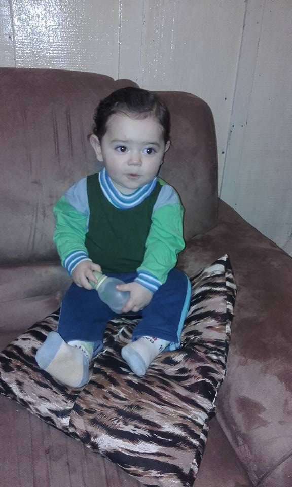 Meu netinho Vinicius