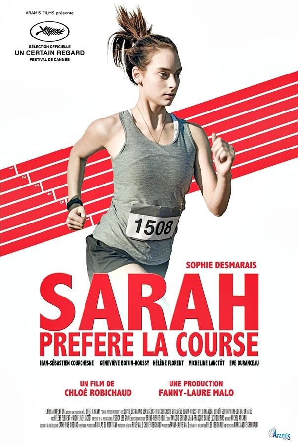 Sarah préfère la course póster