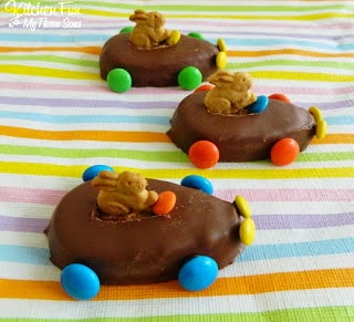 Design Dazzle Link Party bunny cars