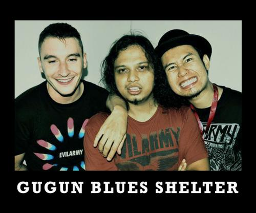 gugun blues shelter gbs band