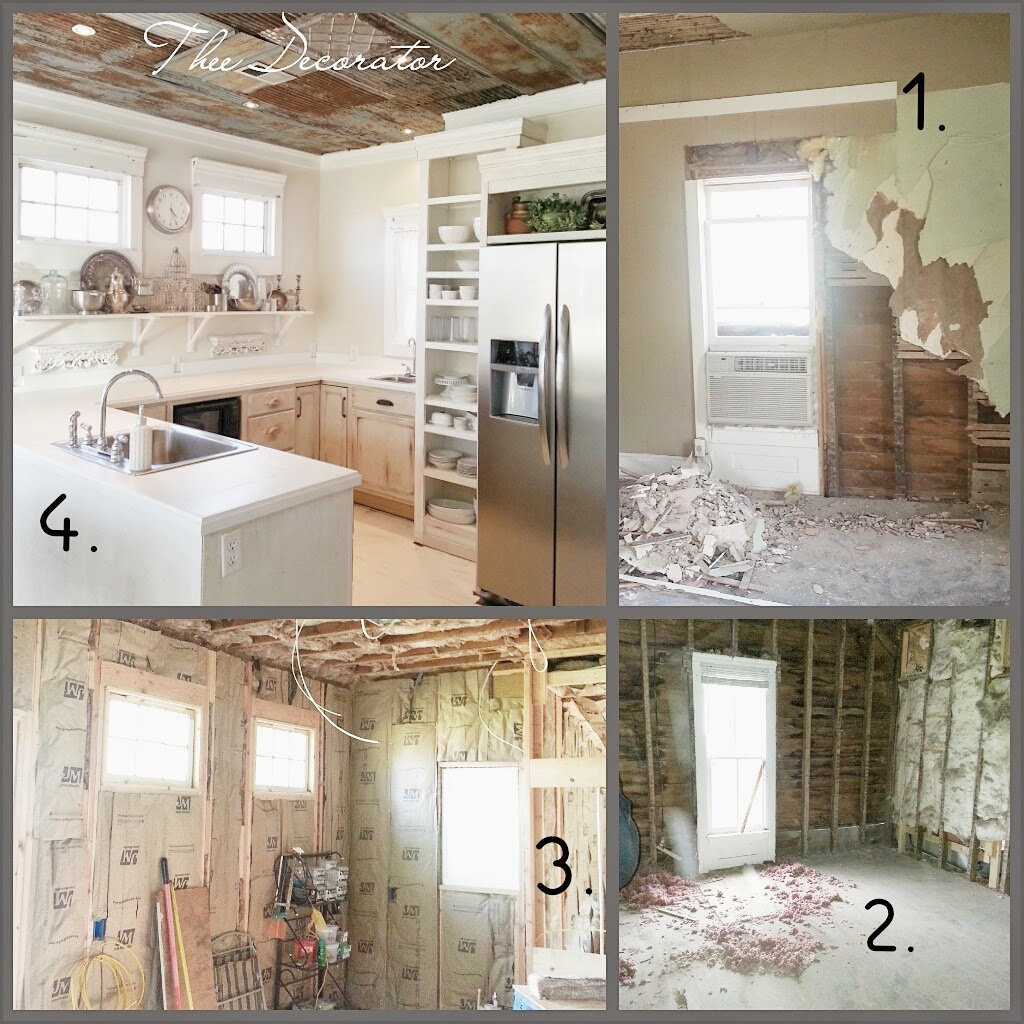 Old Kitchen Before And After: Old Sweetwater Cottage: Kitchen Before And After