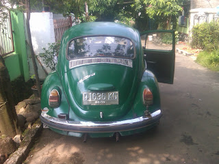 Pengiriman VW Kodok D 1636 KG Balikpapan Jakarta