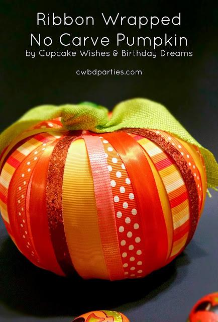 ribbons, pumpkin ideas, Halloween