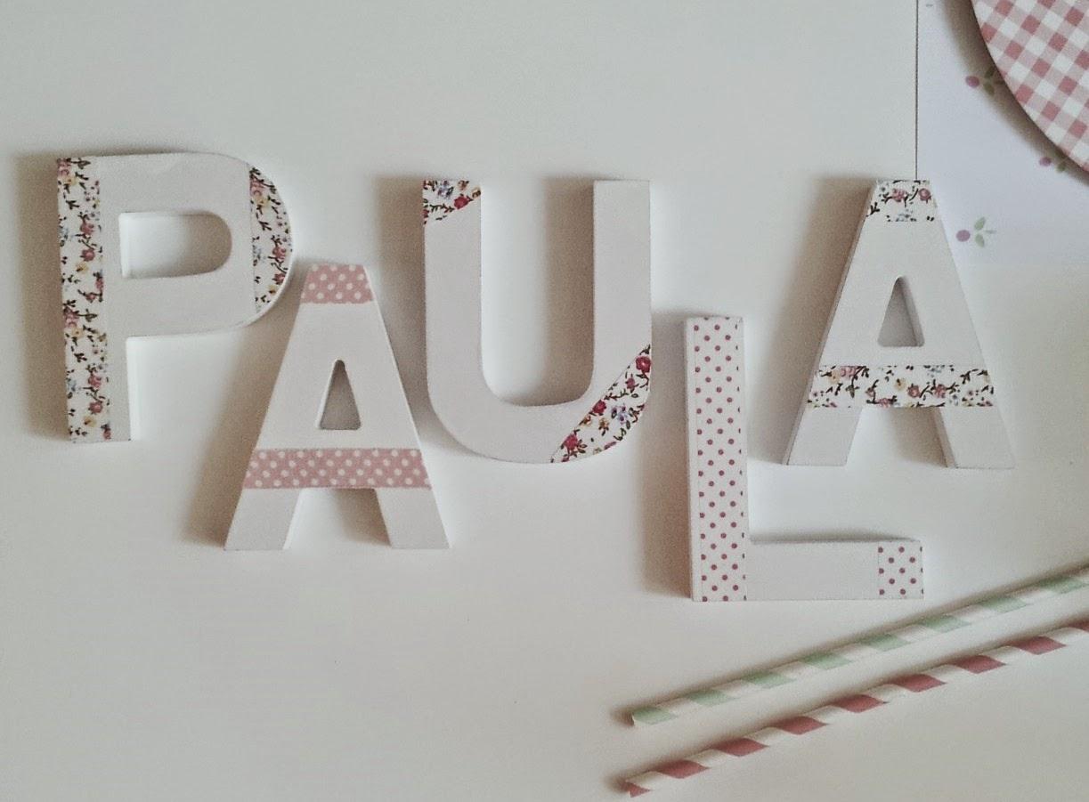 Letras de madera para decorar decoracin infantil - Madera para decorar ...