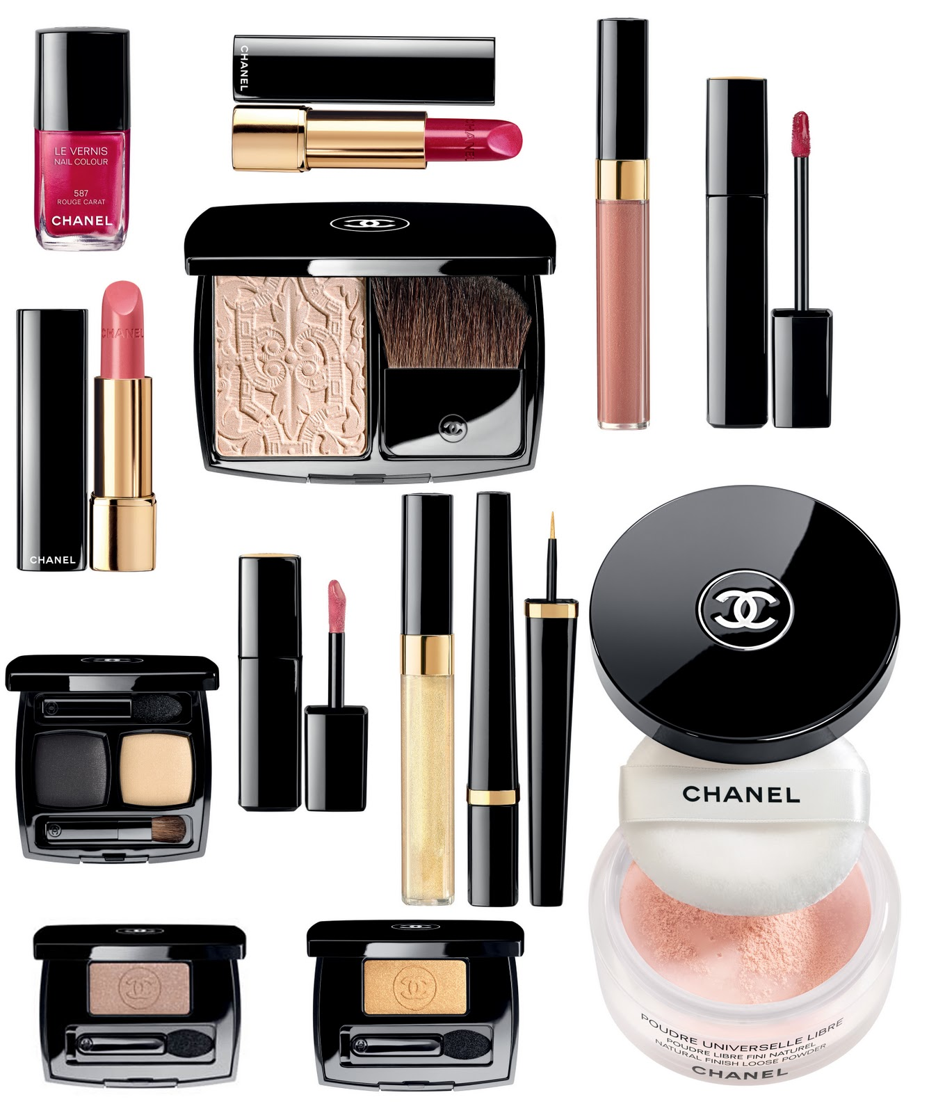 Chanel Christmas Collection 2011 Swatches Fleur De Force